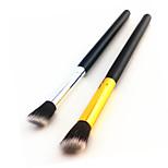 cheap -2pcs Professional Makeup Brushes Eyeshadow Brush Nylon Professional / Soft Face / EyeShadow Middle Brush