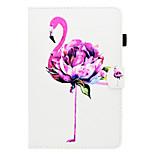 Недорогие -Кейс для Назначение Apple iPad mini 4 iPad Mini 3/2/1 Бумажник для карт со стендом Флип С узором Авто Режим сна / Пробуждение Чехол