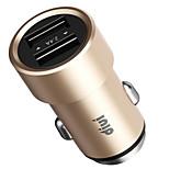 abordables -Chargeur pour auto Chargeur USB pour téléphone USB QC 2.0 Charge Rapide 1 Port USB 2.1A DC 12V-24V