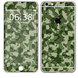 Недорогие -1 ед. Наклейки для Защита от царапин Камуфляж Узор PVC iPhone 6s Plus/6 Plus