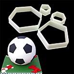 Недорогие -Футбол Для приготовления пищи Посуда Пластик Творческая кухня Гаджет Высокое качество Инструмент выпечки