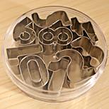 Недорогие -9pcs Необычные Шоколад Печенье Нержавеющая сталь + категория А (ABS) Пивные инструменты
