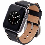 cheap -Watch Band for Apple Watch Series 3 / 2 / 1 Apple Leather Loop Leather Wrist Strap