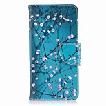 cheap -Case For Huawei P9 lite mini P8 Lite (2017) Card Holder Wallet with Stand Flip Pattern Full Body Cases Flower Hard PU Leather for P10