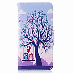 cheap -Case For Huawei P9 lite mini P8 Lite (2017) Card Holder Wallet with Stand Flip Pattern Full Body Cases Owl Hard PU Leather for P10 Lite
