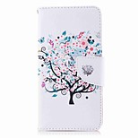 cheap -Case For Huawei P9 lite mini P8 Lite (2017) Card Holder Wallet with Stand Flip Pattern Full Body Cases Tree Hard PU Leather for P10 Plus