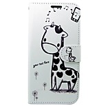cheap -Case For Huawei P8 Lite (2017) Card Holder Wallet with Stand Flip Full Body Cases Cartoon Animal Hard PU Leather for P8 Lite (2017)