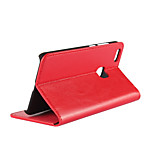 cheap -Case For Huawei P10 Lite Card Holder with Stand Flip Full Body Cases Solid Color Hard Genuine Leather for P10 Lite