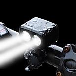 Недорогие -Передняя фара для велосипеда Светодиодная лампа LED Велоспорт Специально разработанный Портативные С зарядным портом Опасность поражения