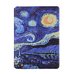 cheap -Case For Apple iPad mini 4 iPad Mini 3/2/1 Shockproof with Stand Flip Auto Sleep/Wake Up Full Body Cases Painting Hard PU Leather for