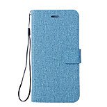 cheap -Case For Xiaomi Mi 6 Mi 5X Card Holder Wallet with Stand Flip Full Body Cases Solid Colored Hard PU Leather for Xiaomi Mi Note 2 Mi 6