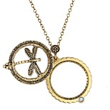 cheap -Men's Women's Pendant Necklace - Vintage Statement Ethnic Circle Ancient Bronze Necklace For Gift Daily