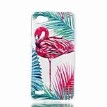 preiswerte -Hülle Für LG V30 Q6 Muster Rückseite Flamingo Weich TPU für LG X Style LG X Power LG V30 LG Q6 LG K10 LG K8