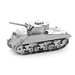 cheap -3D Puzzles Metal Puzzles Creative Focus Toy Hand-made Metal Military Standing Style Toy Tank Gift