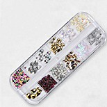 cheap -1 Nail Jewelry Geometric Sparkle Cute Glow Daily Nail Art Design