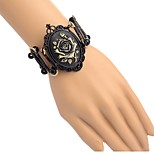 cheap -Men's Women's Bracelet , Vintage Alloy Black Flower Jewelry Daily Costume Jewelry