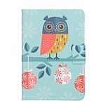 cheap -Case For Amazon Kindle Fire hdx 7.0 Card Holder Shockproof with Stand Flip Auto Sleep/Wake Up Full Body Cases Owl Hard PU Leather for