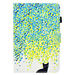 cheap -Case For Apple iPad mini 4 iPad Mini 3/2/1 Card Holder with Stand Flip Pattern Auto Sleep/Wake Up Full Body Cases Cat Hard PU Leather for