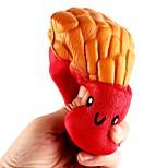 Недорогие -Резиновые игрушки Квадратный Товары для офиса Стресс и тревога помощи Декомпрессионные игрушки Взрослые
