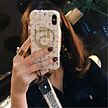 cheap -Case For Apple iPhone X iPhone 7 Plus Pattern Back Cover Lines / Waves Soft Textile for iPhone X iPhone 8 Plus iPhone 8 iPhone 7 Plus