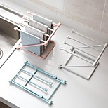 cheap -1set Rack & Holder Other Accessories Plastic Creative Kitchen Gadget Storage Kitchen Organization