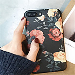 cheap -Case For Apple iPhone X iPhone 7 Plus Pattern Back Cover Flower Soft TPU for iPhone X iPhone 8 Plus iPhone 8 iPhone 7 Plus iPhone 7