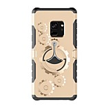cheap -Case For Samsung Galaxy S9 S9 Plus with Stand Armband Solid Color Hard Plastic for S9 Plus S9 S8 Plus S8