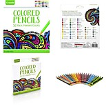Недорогие -Цветные ручки Игрушки для рисования Игрушки Сад Животные Цветы Живопись Простой утонченный 50pcs Куски