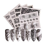 cheap -48 Nail Sticker Flower Nail Decals Nail Art Design Sets