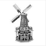 Недорогие -3D пазлы Металлические пазлы Креатив Фокусная игрушка Ручная работа Металл Архитектура Подставка Игрушки Девочки Мальчики Подарок