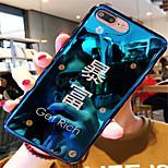Недорогие -Кейс для Назначение Apple iPhone X iPhone 7 Plus С узором Кейс на заднюю панель Слова / выражения Мягкий ТПУ для iPhone X iPhone 8 Pluss
