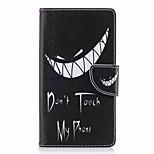 Недорогие -Кейс для Назначение Sony Xperia L2 Xperia XA2 Ultra Бумажник для карт Кошелек со стендом Флип С узором Чехол Слова / выражения Твердый