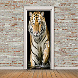 cheap -Animals 3D Wall Stickers Plane Wall Stickers 3D Wall Stickers Decorative Wall Stickers Photo Stickers Floor Stickers Door Stickers, Vinyl