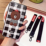 cheap -Case For Apple iPhone X iPhone 7 Plus Pattern Back Cover Lines / Waves Soft TPU for iPhone X iPhone 8 Plus iPhone 8 iPhone 7 Plus iPhone