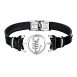 cheap -Men's Bracelet Casual Cool Leather Alloy Scorpion Jewelry Daily Date Costume Jewelry