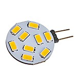 abordables -1pc 2W 180 lm G4 LED à Double Broches T 9 diodes électroluminescentes SMD 5730 Blanc Chaud Blanc Froid AC / DC 12-24V