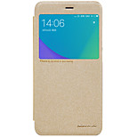 cheap -Case For Xiaomi Redmi Note 5A Redmi Note 4X with Windows Flip Frosted Full Body Cases Solid Color Hard PU Leather for Xiaomi Redmi Note