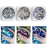 cheap -1pcs Glitter Powder Nail Glitter Nail Art Design