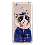 cheap -Case For Xiaomi Redmi 4X IMD Pattern Back Cover Cat Soft TPU for Xiaomi Redmi 4X
