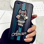 cheap -Case For Apple iPhone X iPhone 7 Plus Pattern Back Cover Cartoon Soft TPU for iPhone 8 Plus iPhone 8 iPhone 7 Plus iPhone 7 iPhone 6s