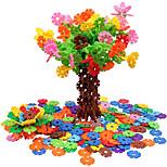 Недорогие -Хлопья для мозга 500 штук блокировки пластиковых дисков набор игрушки геометрический узор подарок
