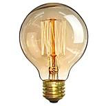 preiswerte -1pc 40W E26/E27 G80 Warmes Weiß 2200-2700 K Retro Abblendbar Dekorativ Glühbirne Vintage Edison Glühbirne 220V-240V