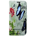 cheap -Case For Huawei P8 Lite (2017) Card Holder Wallet with Stand Flip Full Body Cases Butterfly Flower Hard PU Leather for P8 Lite (2017)