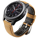 preiswerte -Uhrenarmband für Gear S3 Frontier Gear S3 Classic Samsung Galaxy Klassische Schnalle Leder Handschlaufe