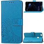 cheap -Case For Huawei P10 Plus P10 Lite Card Holder Wallet Flip Full Body Cases Flower Hard Genuine Leather for P10 Plus P10 Lite P10