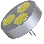 abordables -SENCART 1pc 5W 320lm G4 Luces LED de Doble Pin T 3 Cuentas LED COB Decorativa Blanco Cálido Blanco Fresco 12V