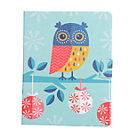 cheap -Case For Apple iPad mini 4 iPad Mini 3/2/1 Card Holder Shockproof with Stand Flip Auto Sleep/Wake Up Full Body Cases Owl Hard PU Leather