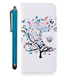 Недорогие -Кейс для Назначение Huawei Mate 10 lite Mate 10 Бумажник для карт Кошелек со стендом Флип Магнитный Чехол дерево Твердый Кожа PU для Mate