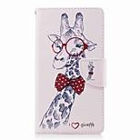 Недорогие -Кейс для Назначение Sony Xperia L2 Xperia XA2 Ultra Бумажник для карт Кошелек со стендом Флип С узором Чехол Животное Твердый Кожа PU для