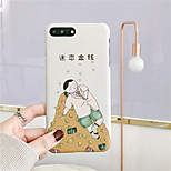 cheap -Case For Apple iPhone X iPhone 7 Plus Pattern Back Cover Cartoon Hard PC for iPhone X iPhone 8 Plus iPhone 8 iPhone 7 Plus iPhone 7